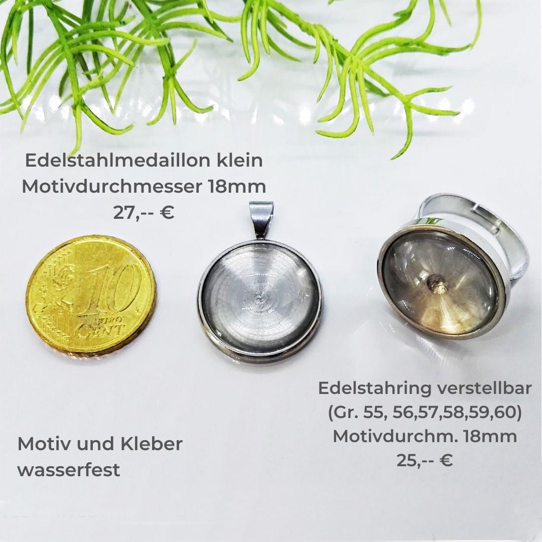 Medaillon klein und Ring